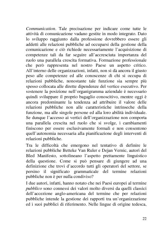 Anteprima della tesi: L'Italia dei Porti: tra evento televisivo e marketing territoriale, Pagina 13