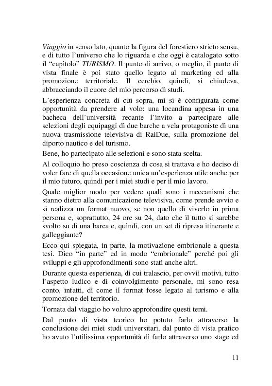 Anteprima della tesi: L'Italia dei Porti: tra evento televisivo e marketing territoriale, Pagina 2