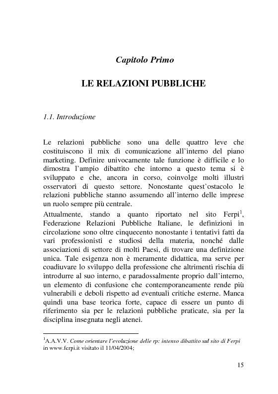 Anteprima della tesi: L'Italia dei Porti: tra evento televisivo e marketing territoriale, Pagina 6