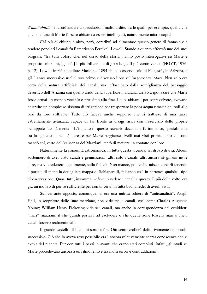 Anteprima della tesi: Il mito di Marte nella fantascienza americana, Pagina 11
