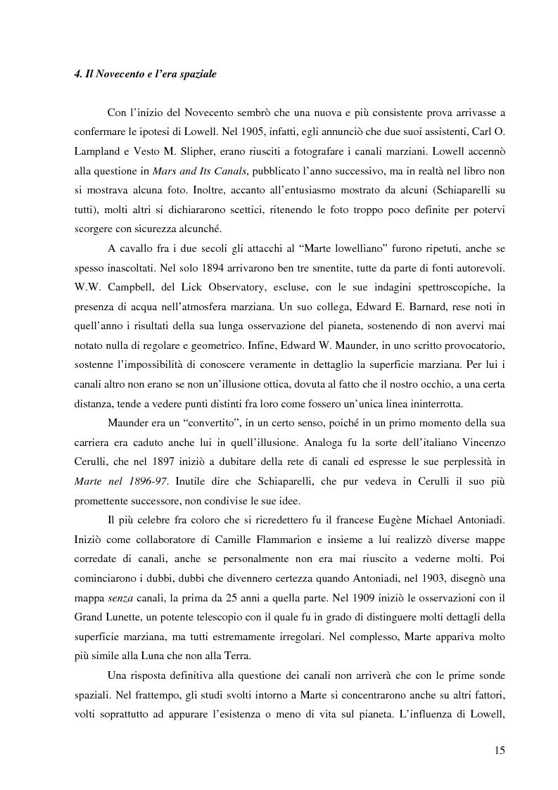 Anteprima della tesi: Il mito di Marte nella fantascienza americana, Pagina 12