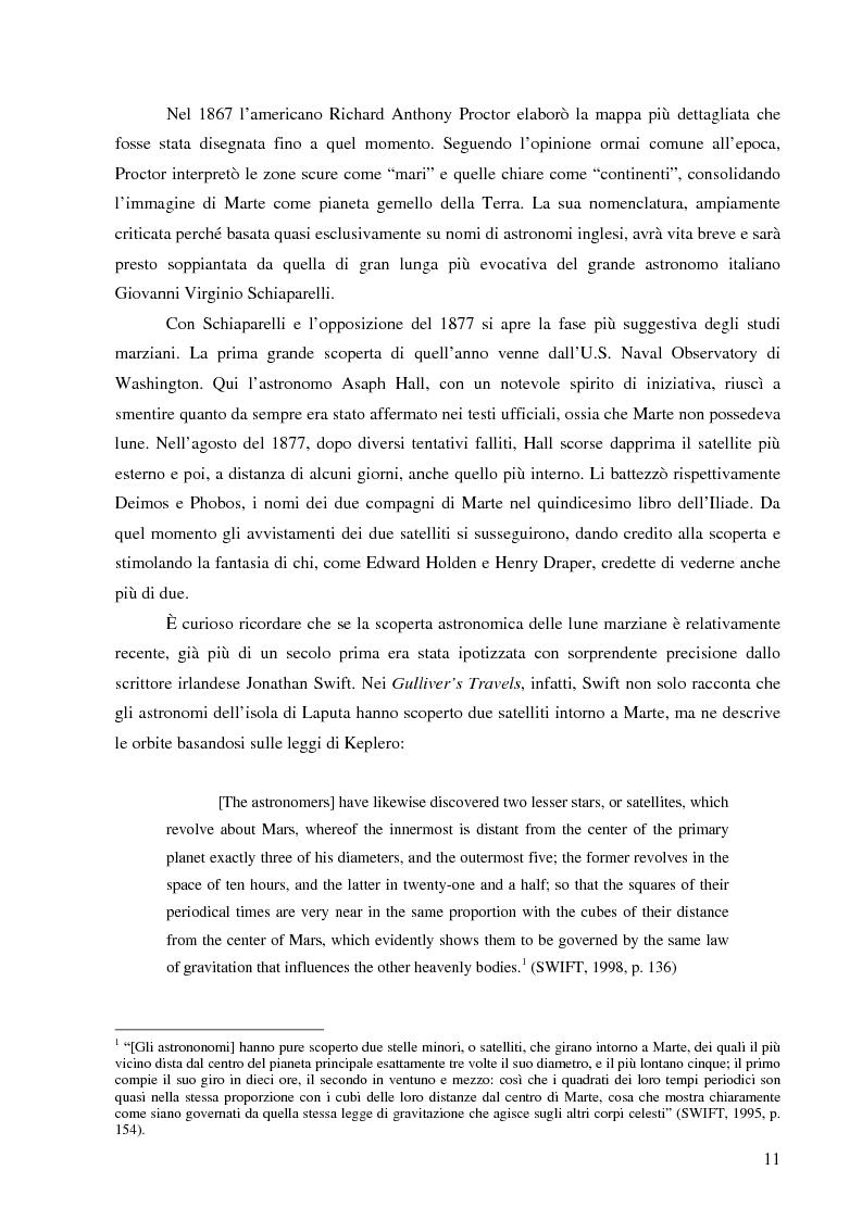 Anteprima della tesi: Il mito di Marte nella fantascienza americana, Pagina 8