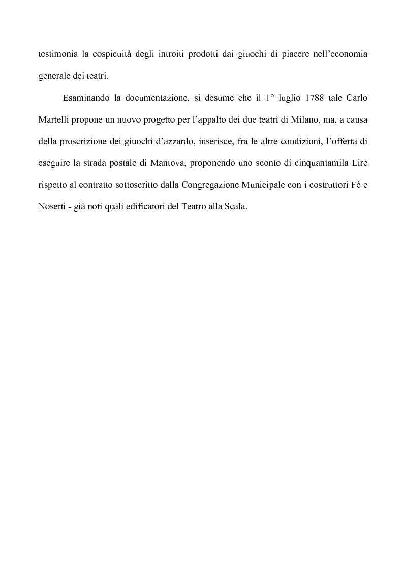 Anteprima della tesi: Teatro e Giuoco d'Azzardo a Milano nel Settecento, Pagina 11