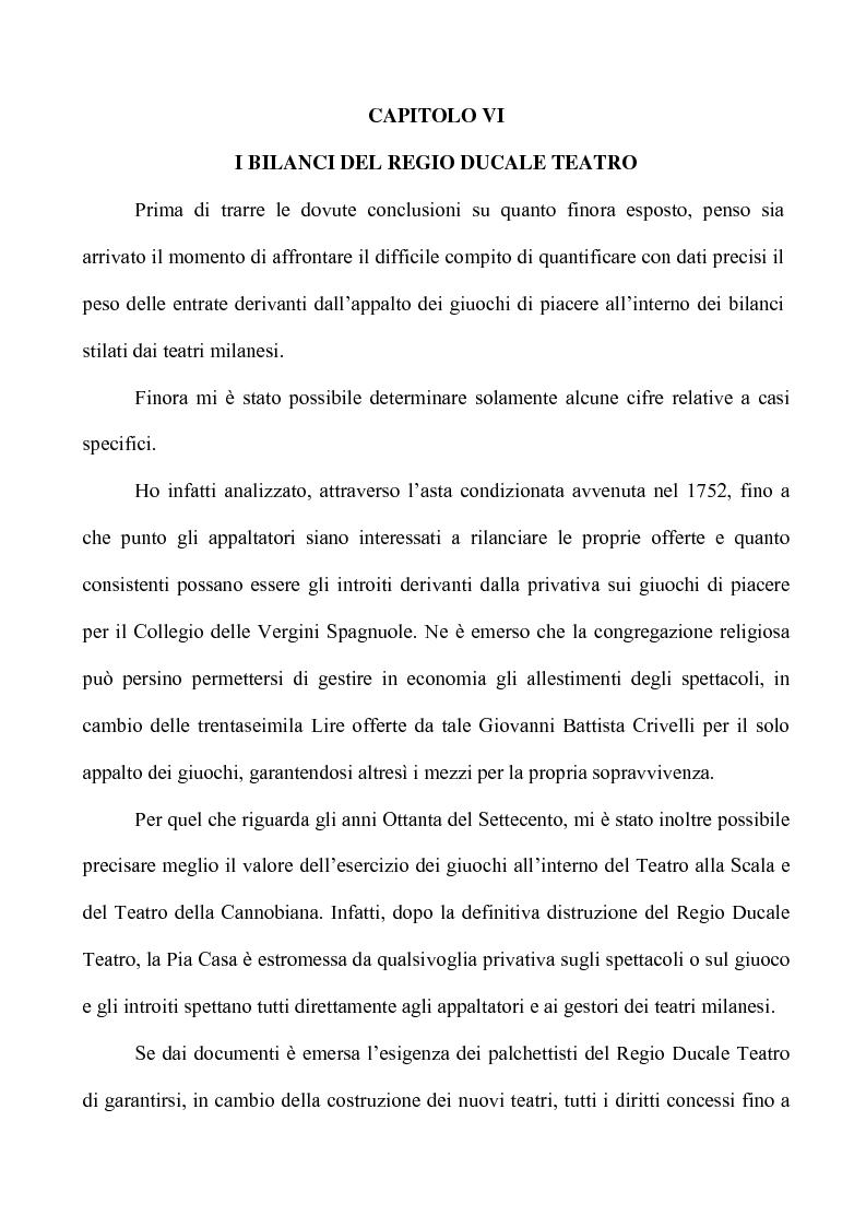 Anteprima della tesi: Teatro e Giuoco d'Azzardo a Milano nel Settecento, Pagina 12