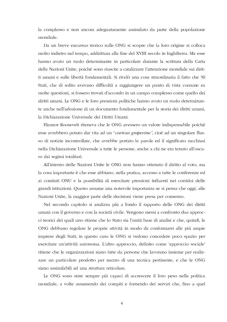Anteprima della tesi: Amnesty International: comunicare i diritti umani, Pagina 2