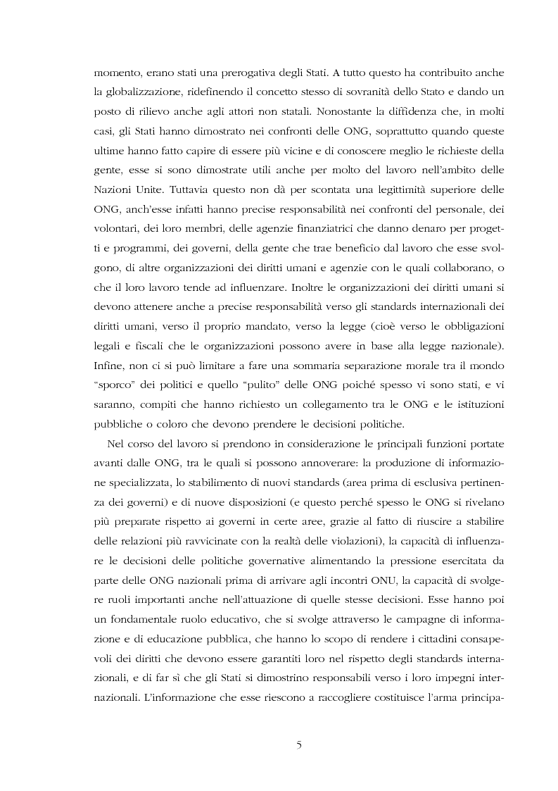 Anteprima della tesi: Amnesty International: comunicare i diritti umani, Pagina 3