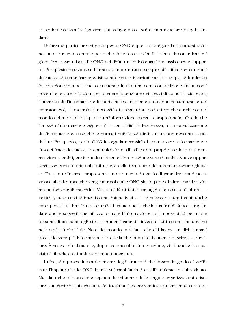 Anteprima della tesi: Amnesty International: comunicare i diritti umani, Pagina 4