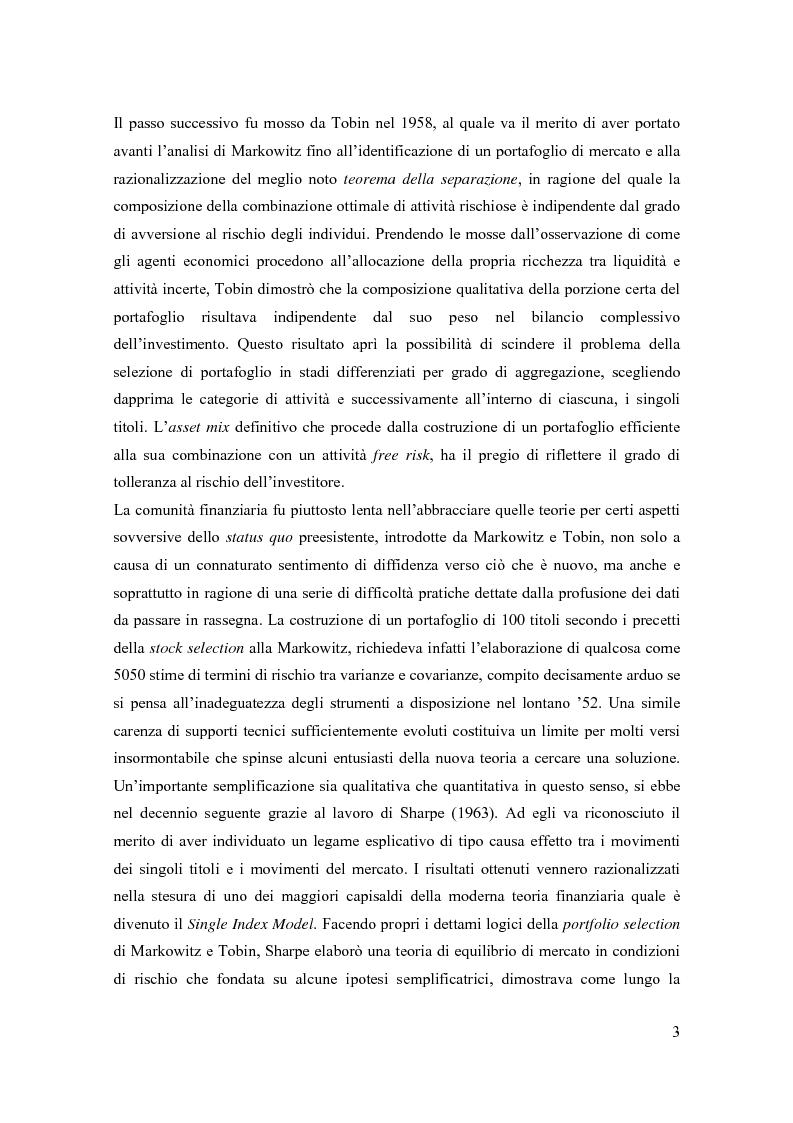 Anteprima della tesi: Modelli di pricing per titoli azionari: la valutazione in economie dinamiche, Pagina 3