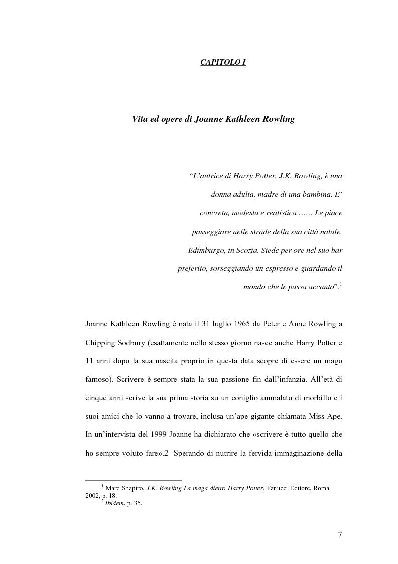 Anteprima della tesi: Harry Potter e la sua recezione, Pagina 4