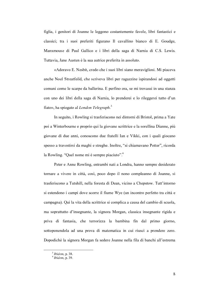 Anteprima della tesi: Harry Potter e la sua recezione, Pagina 5