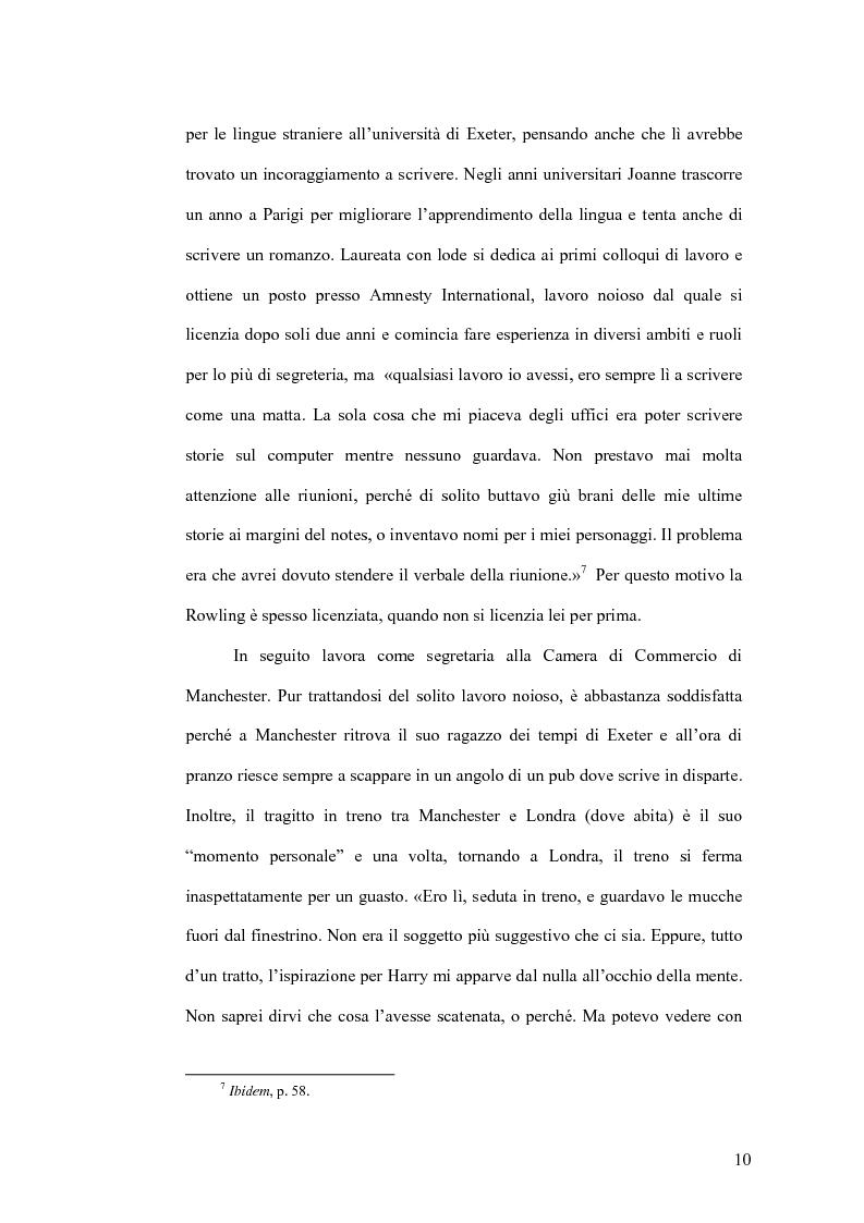 Anteprima della tesi: Harry Potter e la sua recezione, Pagina 7
