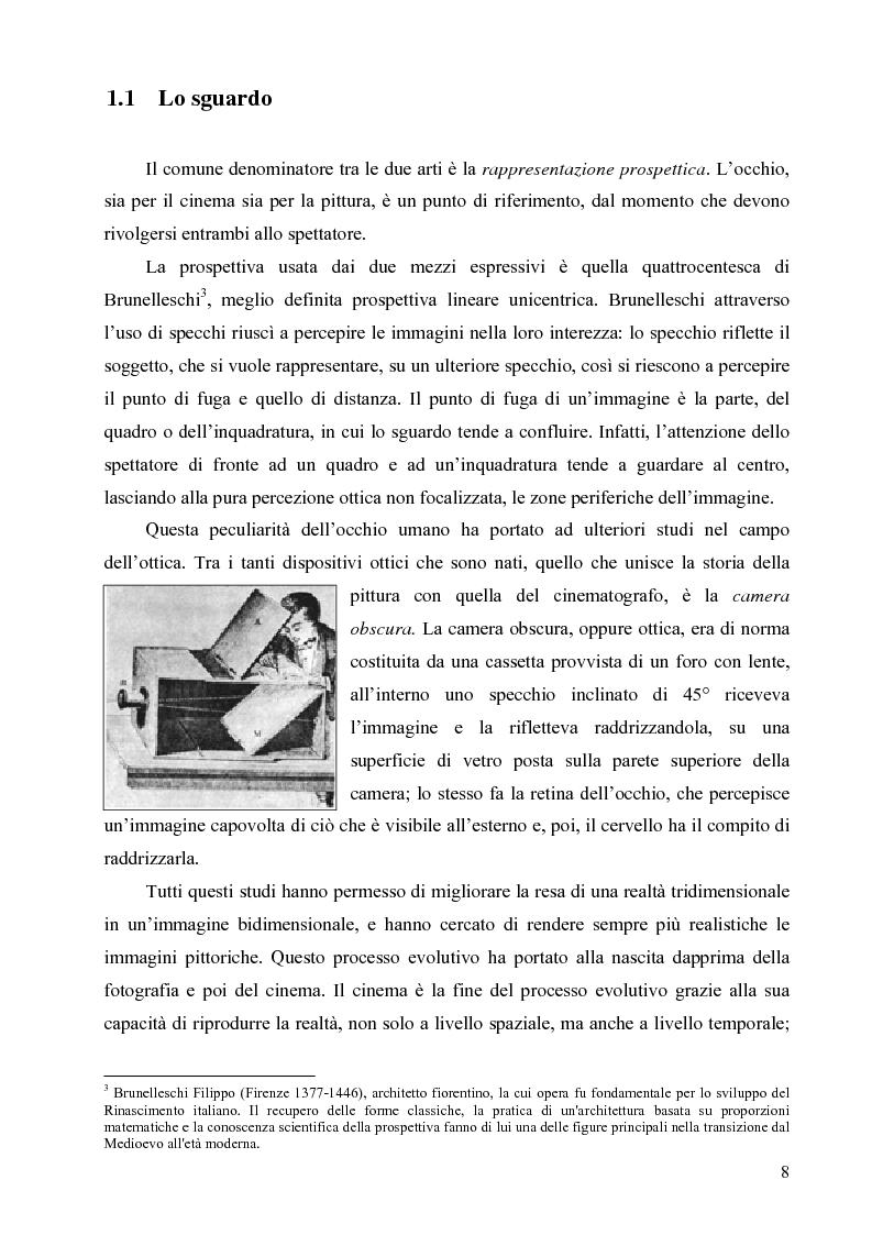 Anteprima della tesi: Riflessi ed echi pittorici nel cinema di Luchino Visconti, Pagina 4
