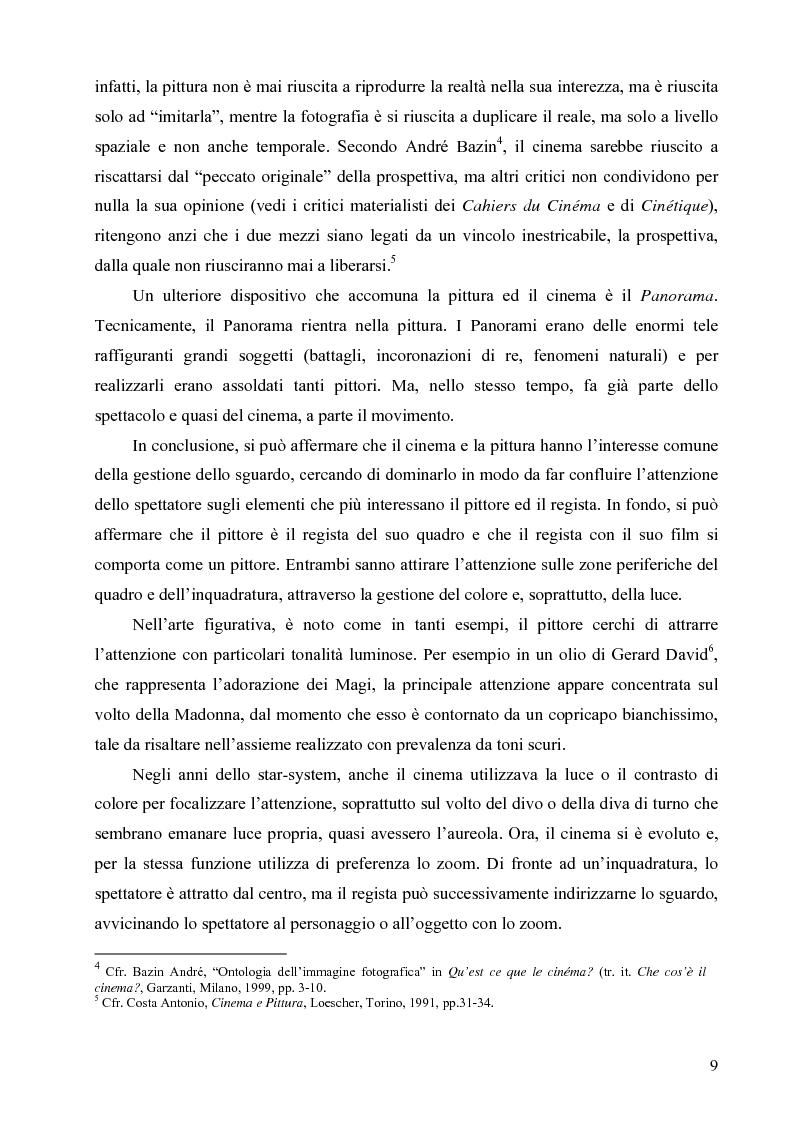 Anteprima della tesi: Riflessi ed echi pittorici nel cinema di Luchino Visconti, Pagina 5