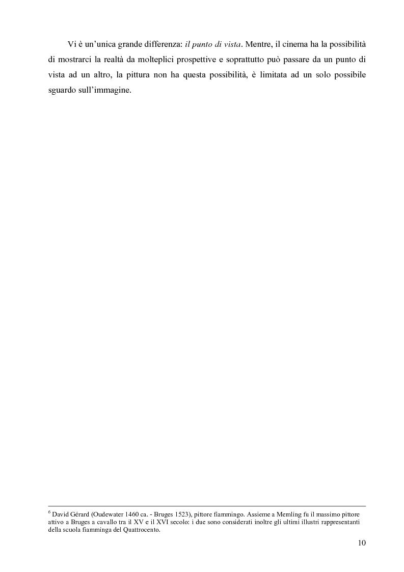 Anteprima della tesi: Riflessi ed echi pittorici nel cinema di Luchino Visconti, Pagina 6