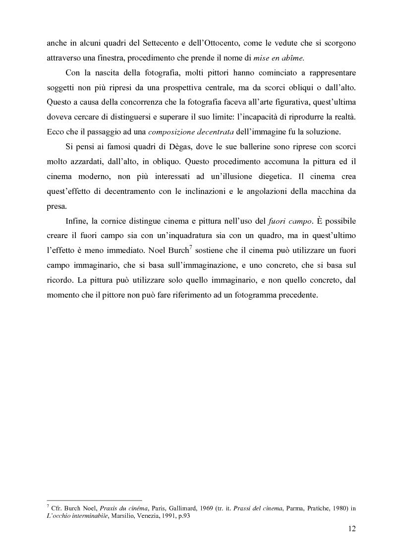 Anteprima della tesi: Riflessi ed echi pittorici nel cinema di Luchino Visconti, Pagina 8