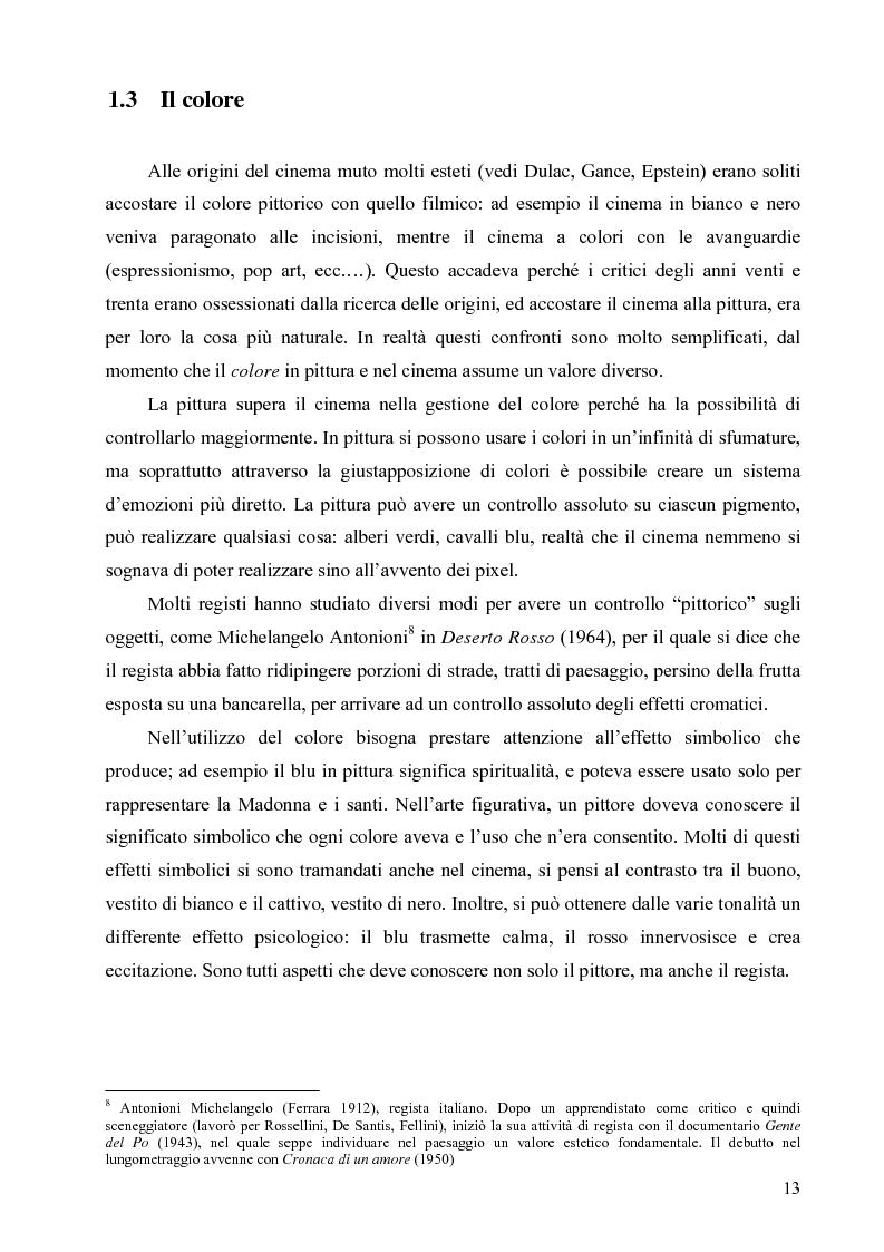 Anteprima della tesi: Riflessi ed echi pittorici nel cinema di Luchino Visconti, Pagina 9