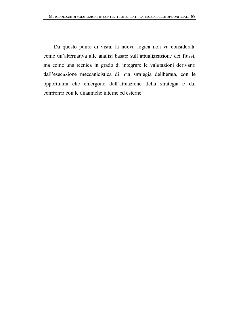 Anteprima della tesi: Opzioni Reali. Valutazione degli investimenti in condizioni di incertezza, Pagina 11