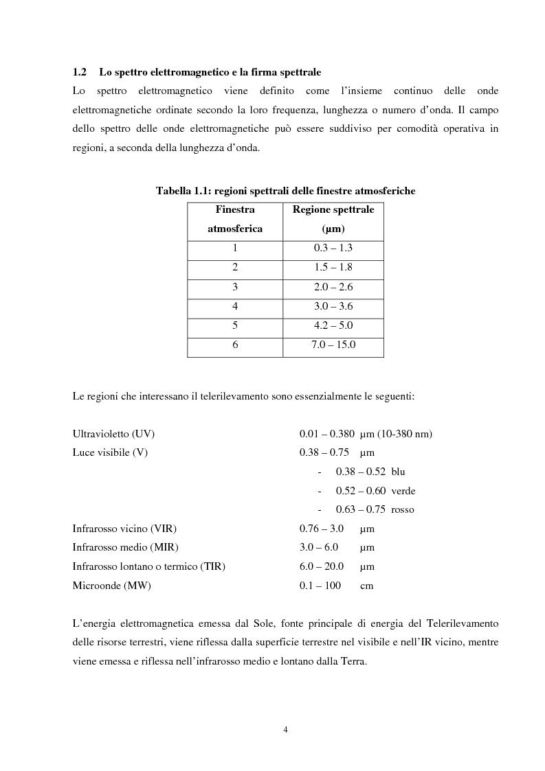 Anteprima della tesi: Analisi della segmentazione delle immagini digitali telerilevate applicata alla classificazione CORINE: proposte di procedure di ottimizzazione, Pagina 4