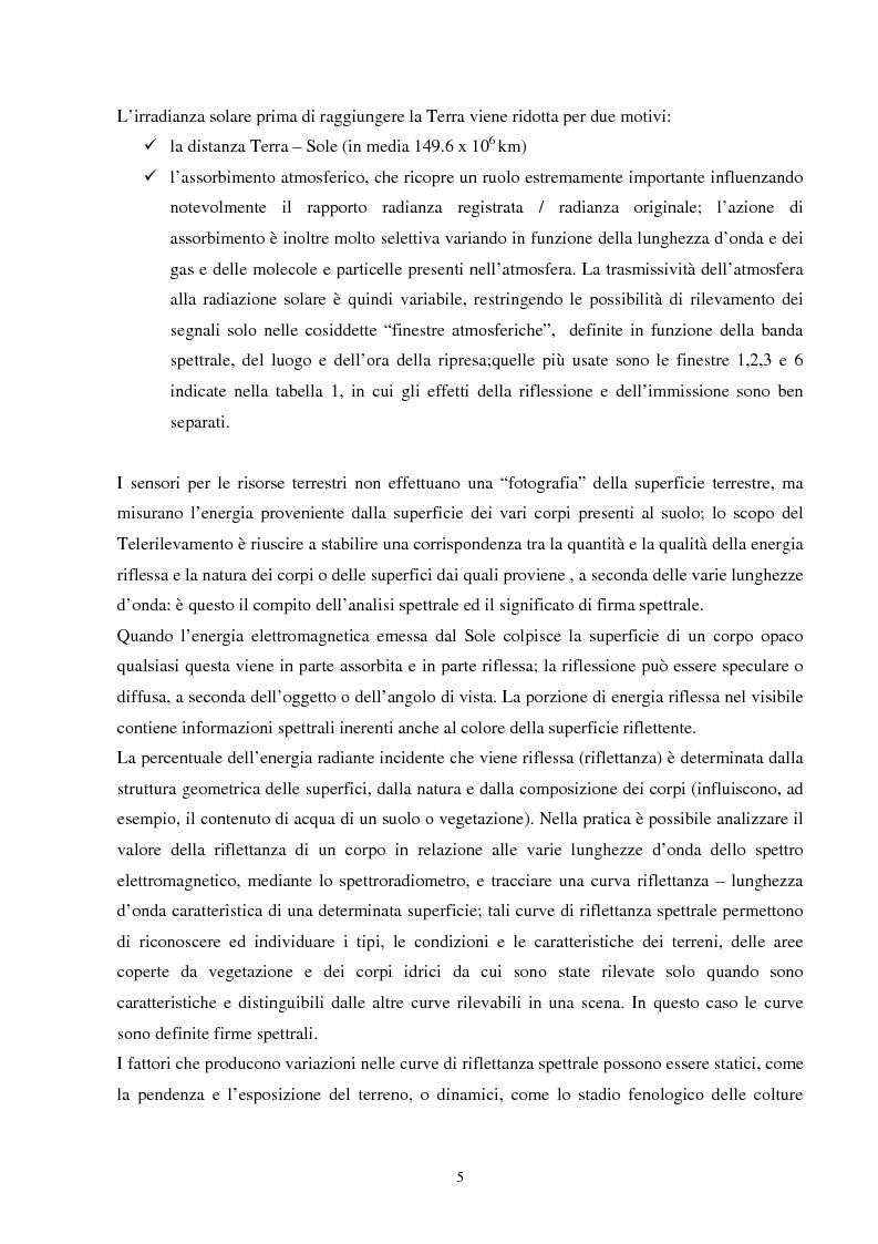 Anteprima della tesi: Analisi della segmentazione delle immagini digitali telerilevate applicata alla classificazione CORINE: proposte di procedure di ottimizzazione, Pagina 5