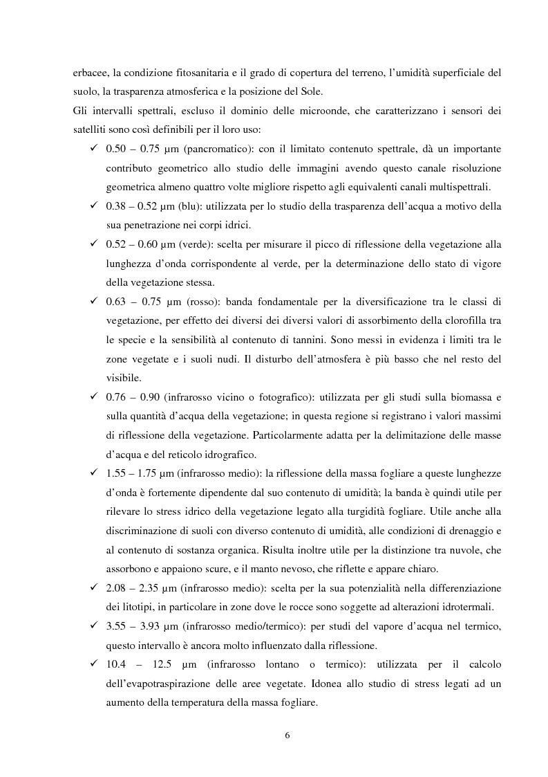 Anteprima della tesi: Analisi della segmentazione delle immagini digitali telerilevate applicata alla classificazione CORINE: proposte di procedure di ottimizzazione, Pagina 6