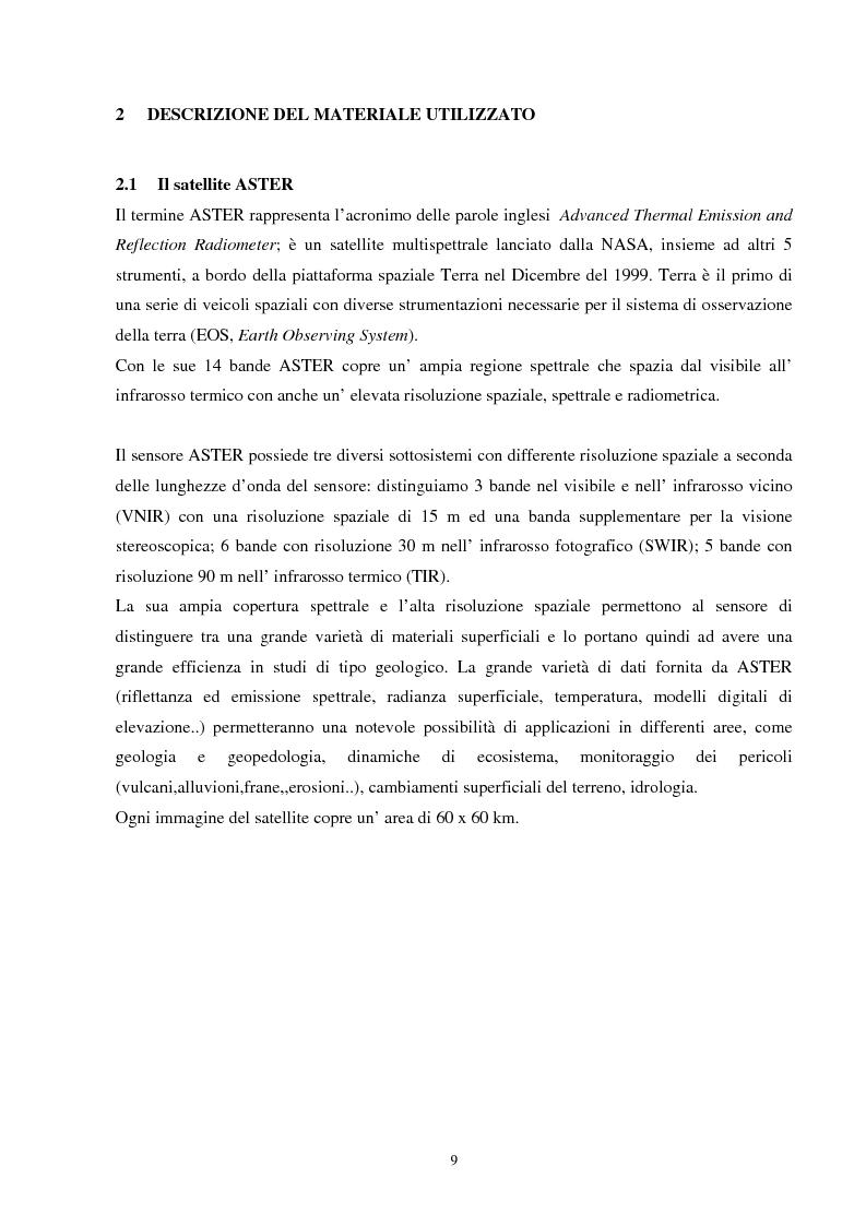 Anteprima della tesi: Analisi della segmentazione delle immagini digitali telerilevate applicata alla classificazione CORINE: proposte di procedure di ottimizzazione, Pagina 9
