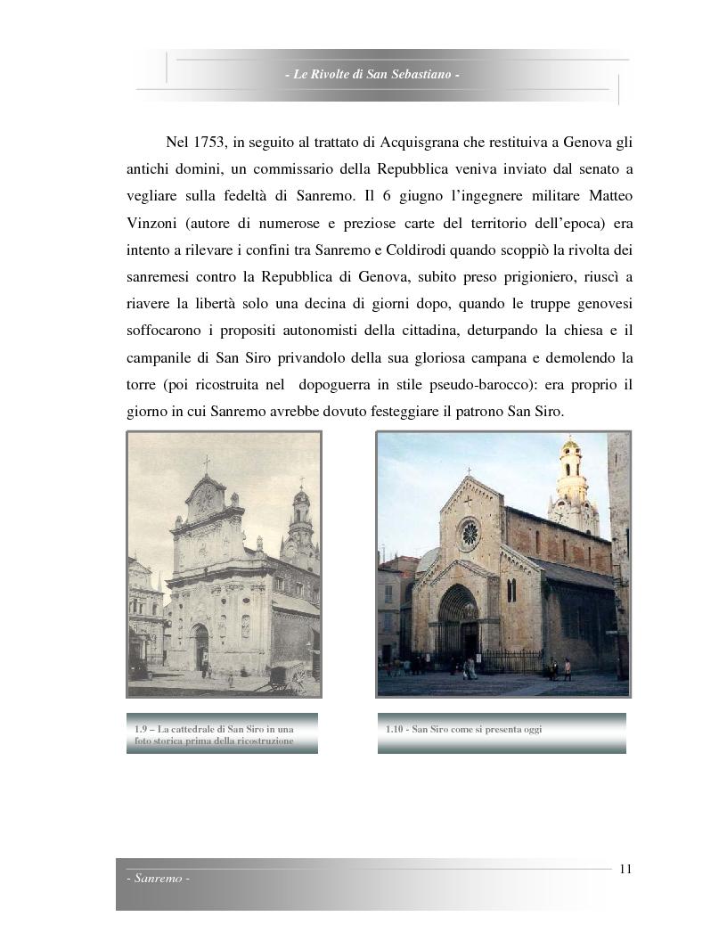 Anteprima della tesi: Le Rivolte di San Sebastiano: Proposta di recupero di un edificio sito nella Pigna di Sanremo, Pagina 11