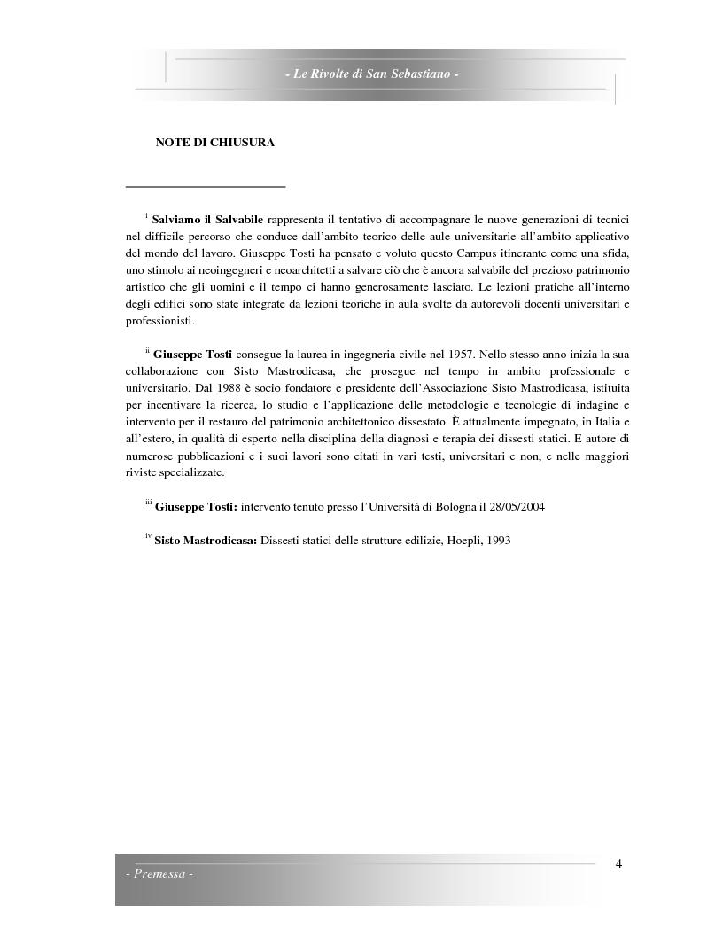 Anteprima della tesi: Le Rivolte di San Sebastiano: Proposta di recupero di un edificio sito nella Pigna di Sanremo, Pagina 4