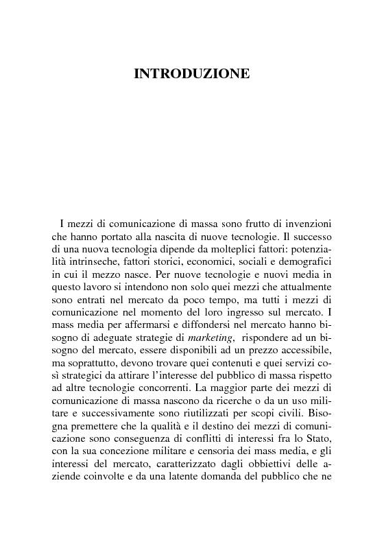 Anteprima della tesi: Tecnologie Oscene. Erotismo e pornografia: contenuti strategici per i nuovi media, Pagina 1