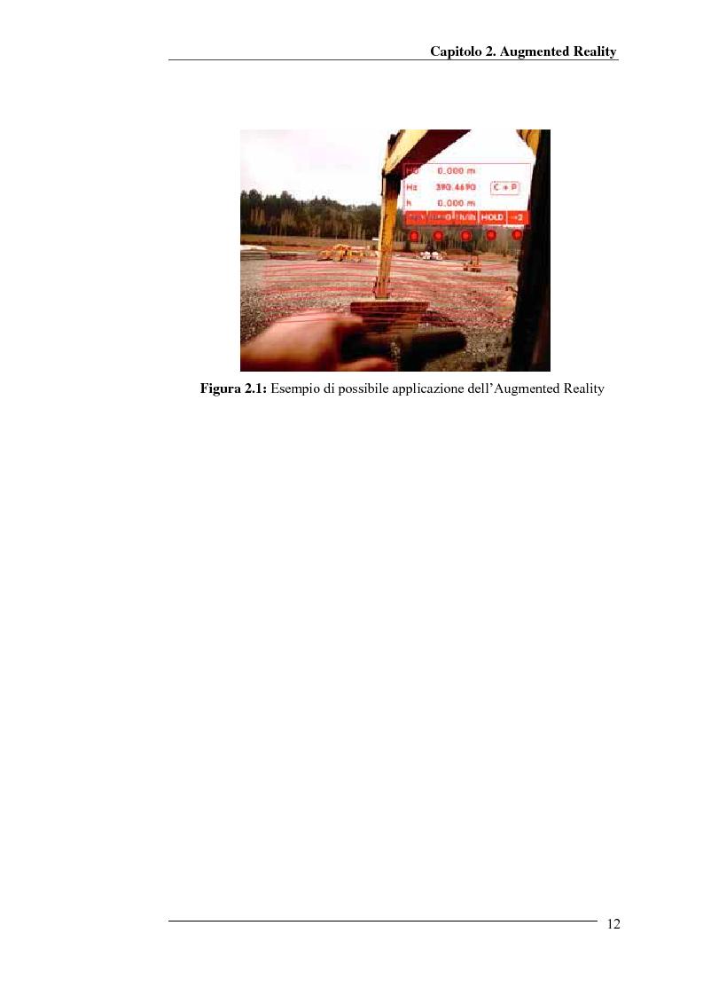 Anteprima della tesi: Merging di immagini digitali in un sistema prototipale di augmented reality, Pagina 7