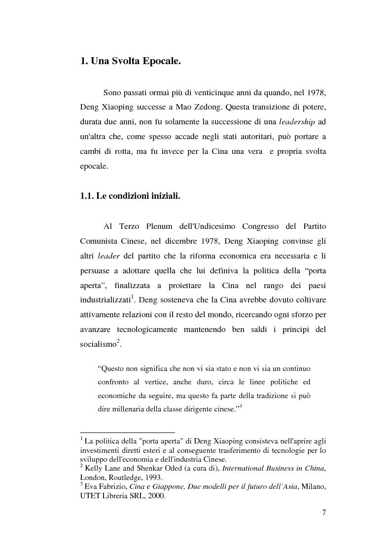 Anteprima della tesi: Venticinque anni di riforme in Cina: vittorie e contraddizioni di una nuova potenza mondiale, Pagina 4