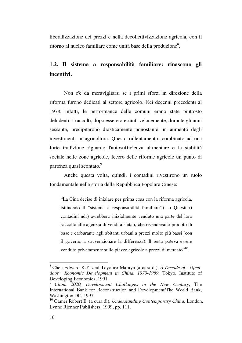 Anteprima della tesi: Venticinque anni di riforme in Cina: vittorie e contraddizioni di una nuova potenza mondiale, Pagina 7