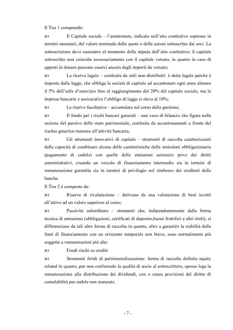 Anteprima della tesi: Basilea 2 e la valutazione delle pmi un'applicazione del settore del turismo, Pagina 4