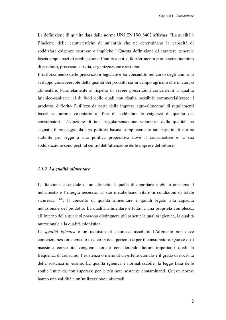 Anteprima della tesi: Sperimentazione di un sistema dinamico per la selezione Vis-NIR della frutta, Pagina 2