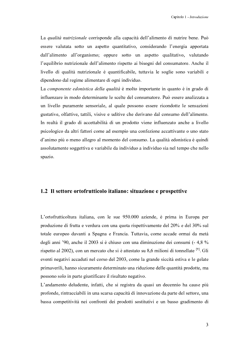 Anteprima della tesi: Sperimentazione di un sistema dinamico per la selezione Vis-NIR della frutta, Pagina 3