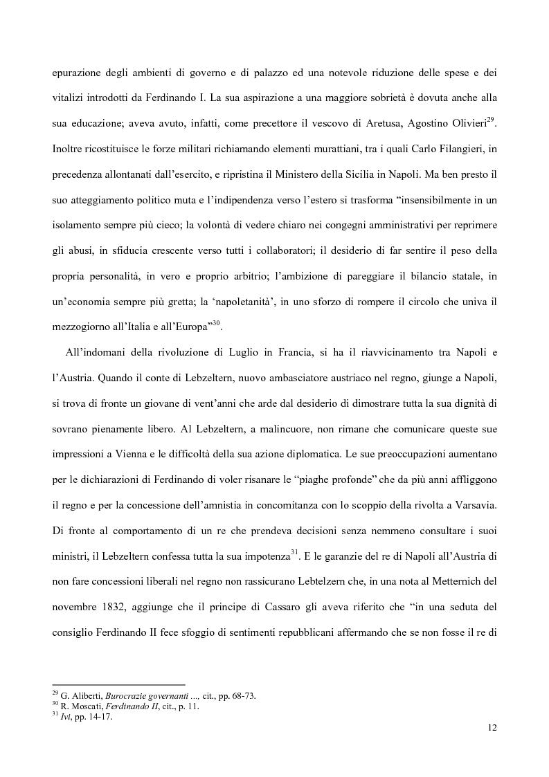 Anteprima della tesi: Nati, matrimoni e morti a Salerno dal 1830 all' Unità, Pagina 10