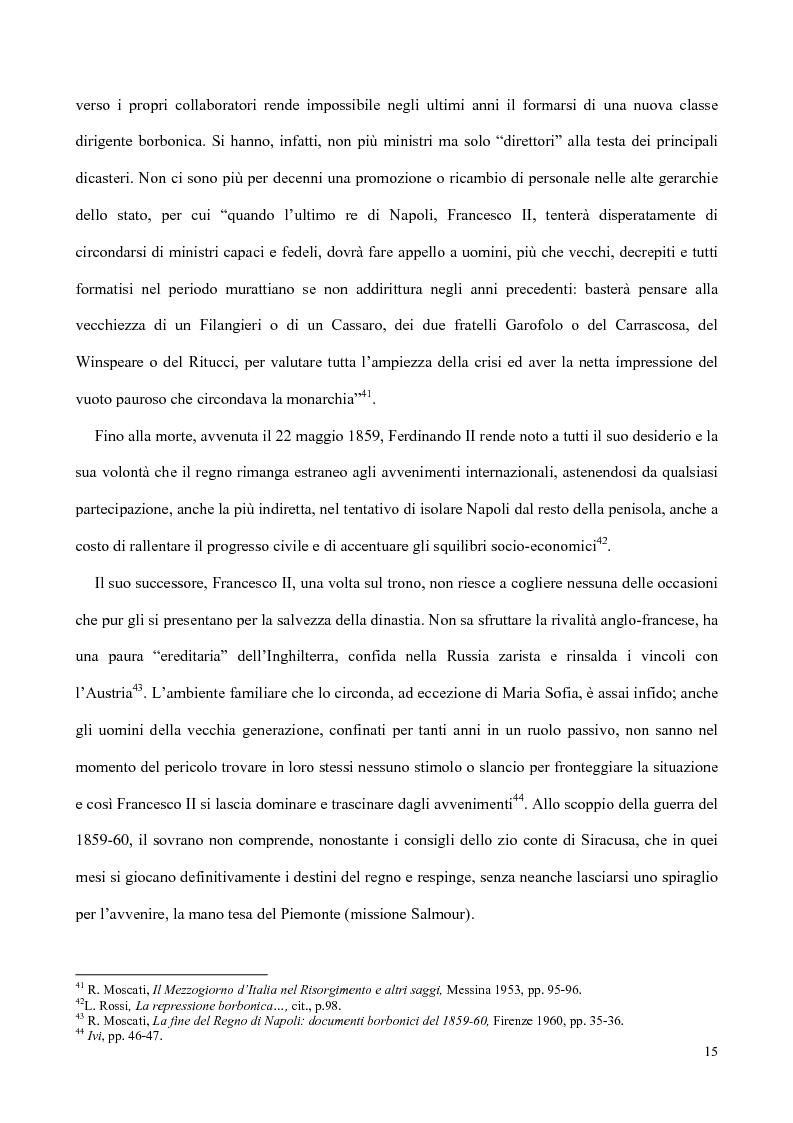 Anteprima della tesi: Nati, matrimoni e morti a Salerno dal 1830 all' Unità, Pagina 13
