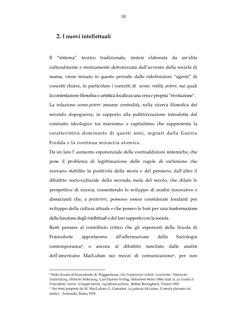 Anteprima della tesi: Archeologia e futurologia: una lettura foucaultiana dell'opera di Philip K. Dick, Pagina 10
