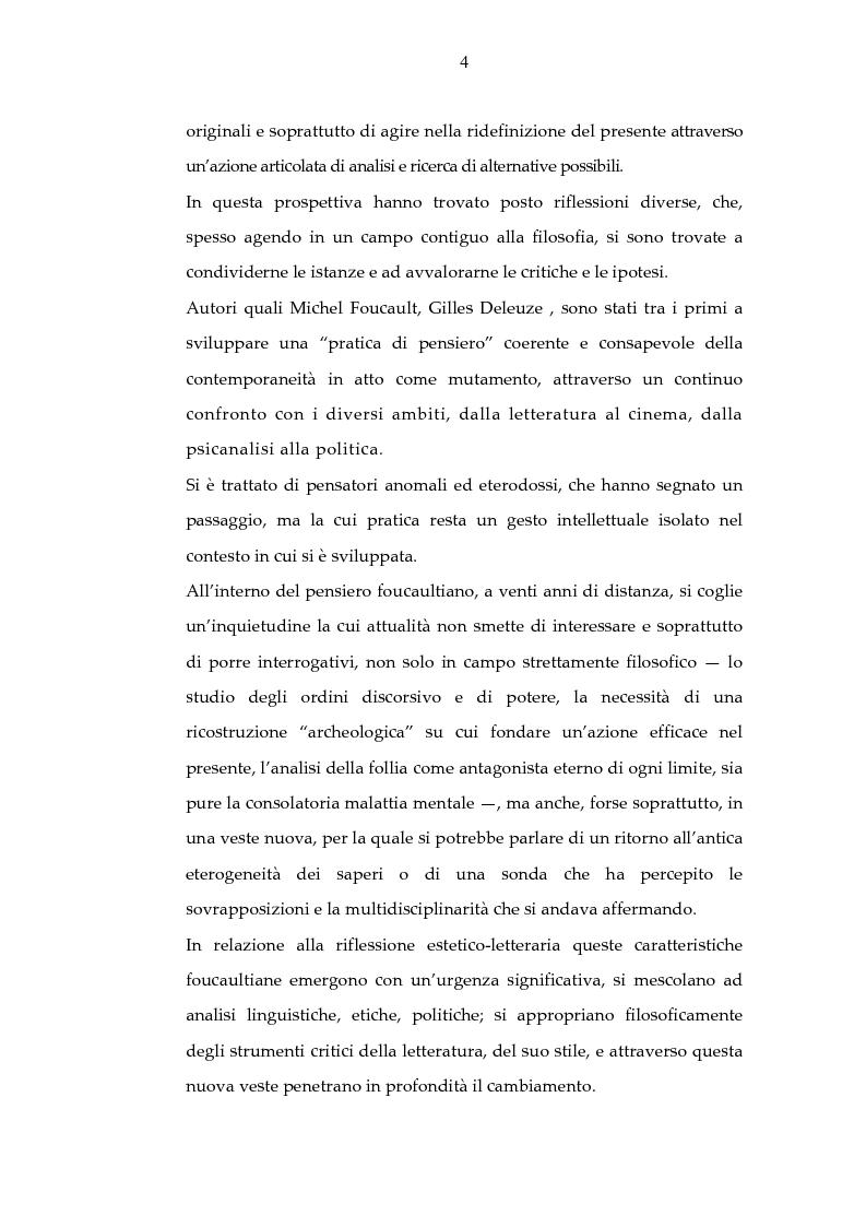 Anteprima della tesi: Archeologia e futurologia: una lettura foucaultiana dell'opera di Philip K. Dick, Pagina 4