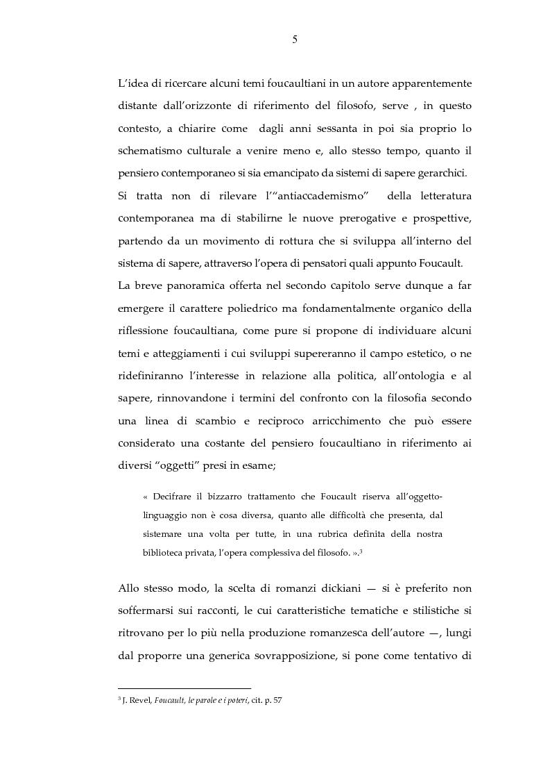 Anteprima della tesi: Archeologia e futurologia: una lettura foucaultiana dell'opera di Philip K. Dick, Pagina 5