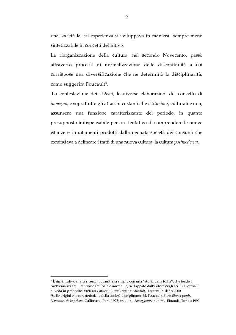Anteprima della tesi: Archeologia e futurologia: una lettura foucaultiana dell'opera di Philip K. Dick, Pagina 9