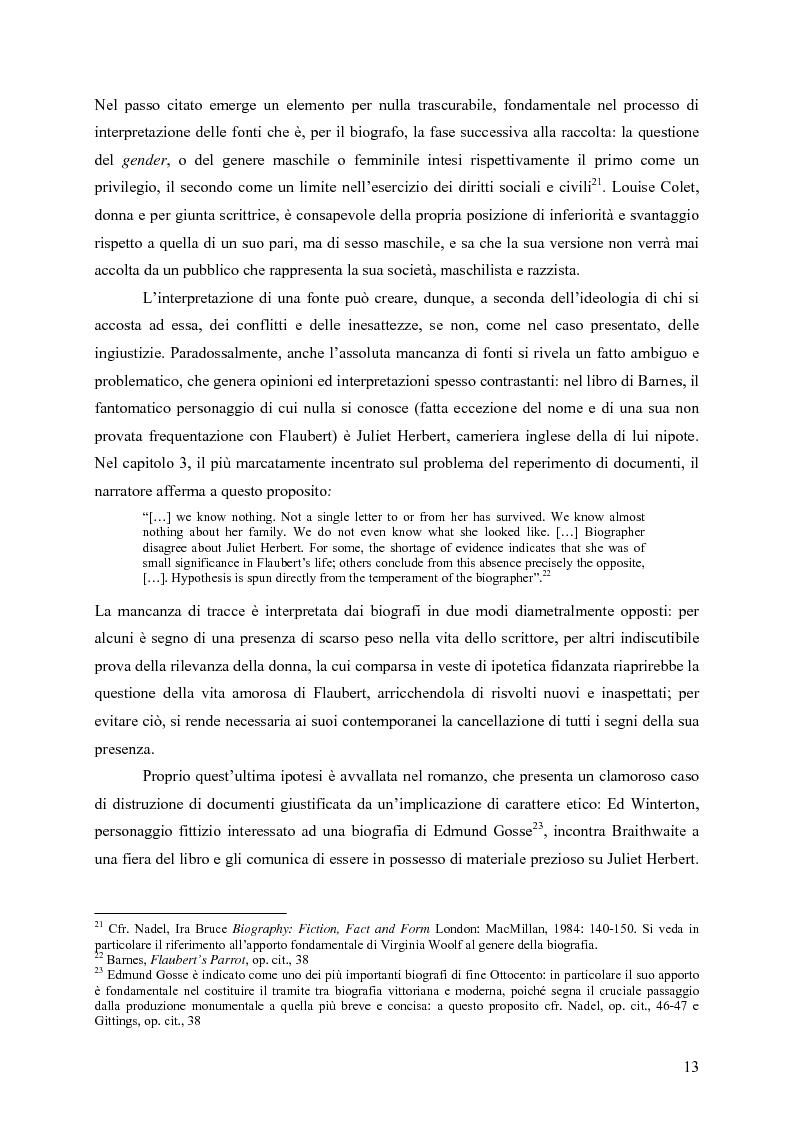 """Anteprima della tesi: """"History is merely another literary genre"""": Julian Barnes e l'""""invenzione"""" della storia, Pagina 11"""