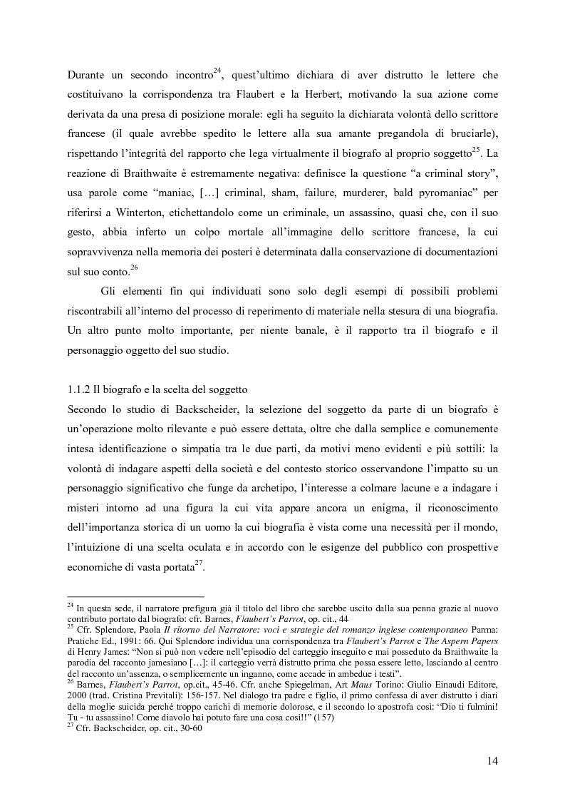"""Anteprima della tesi: """"History is merely another literary genre"""": Julian Barnes e l'""""invenzione"""" della storia, Pagina 12"""