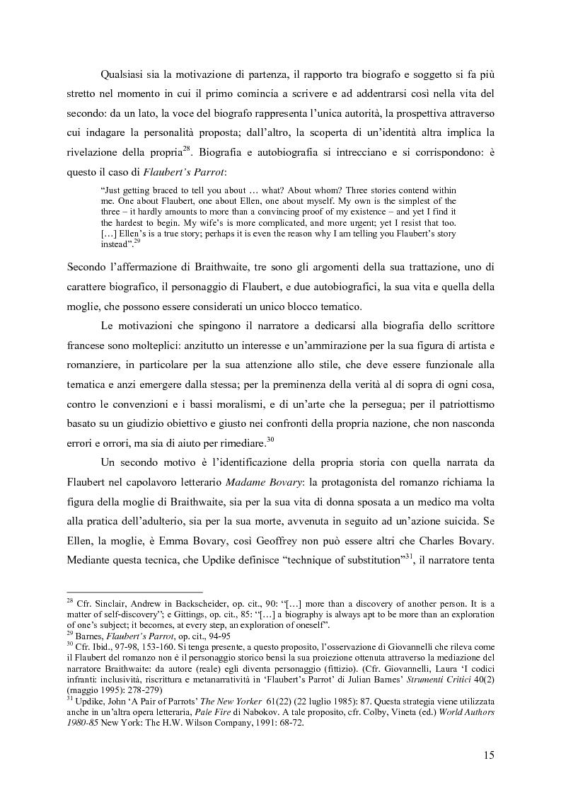 """Anteprima della tesi: """"History is merely another literary genre"""": Julian Barnes e l'""""invenzione"""" della storia, Pagina 13"""