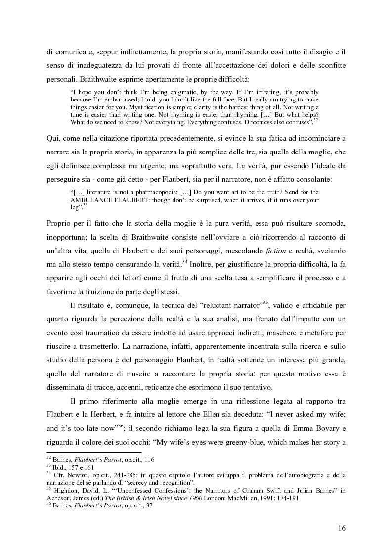 """Anteprima della tesi: """"History is merely another literary genre"""": Julian Barnes e l'""""invenzione"""" della storia, Pagina 14"""