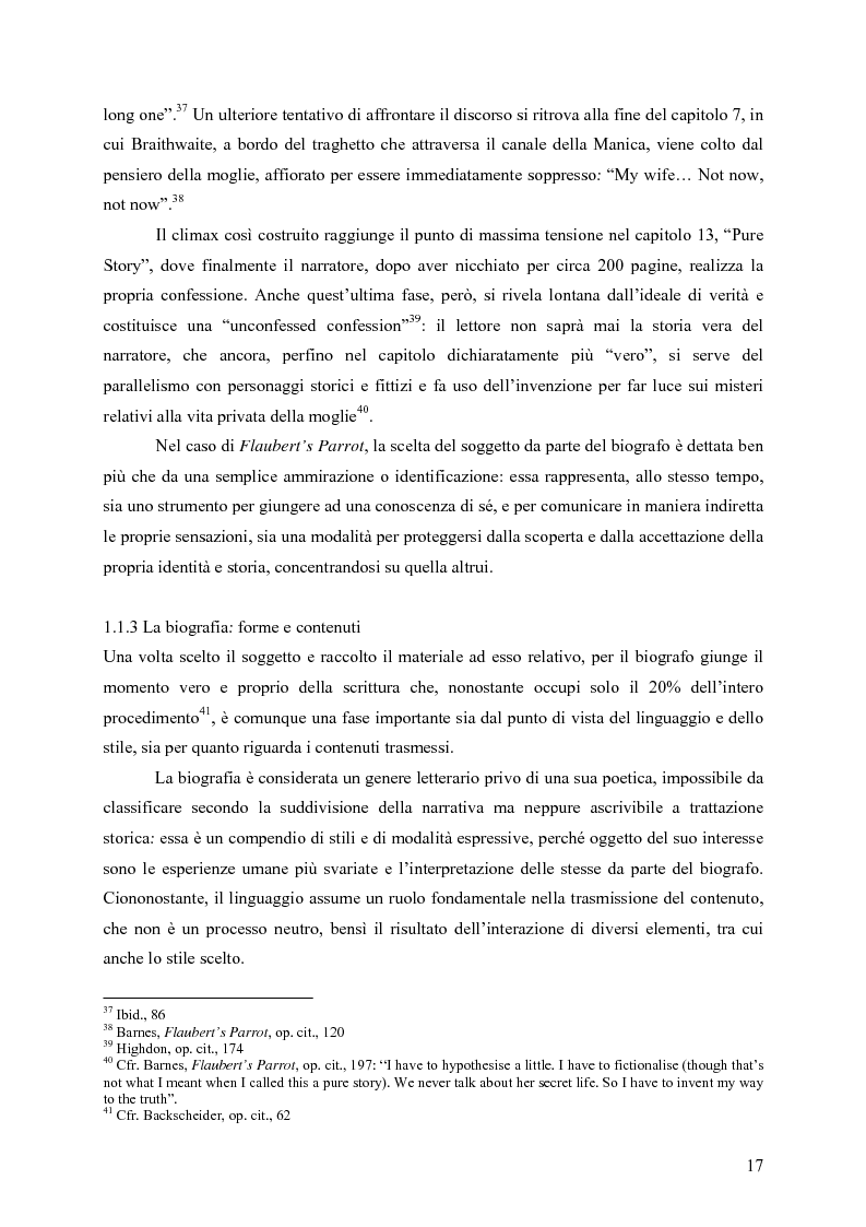 """Anteprima della tesi: """"History is merely another literary genre"""": Julian Barnes e l'""""invenzione"""" della storia, Pagina 15"""