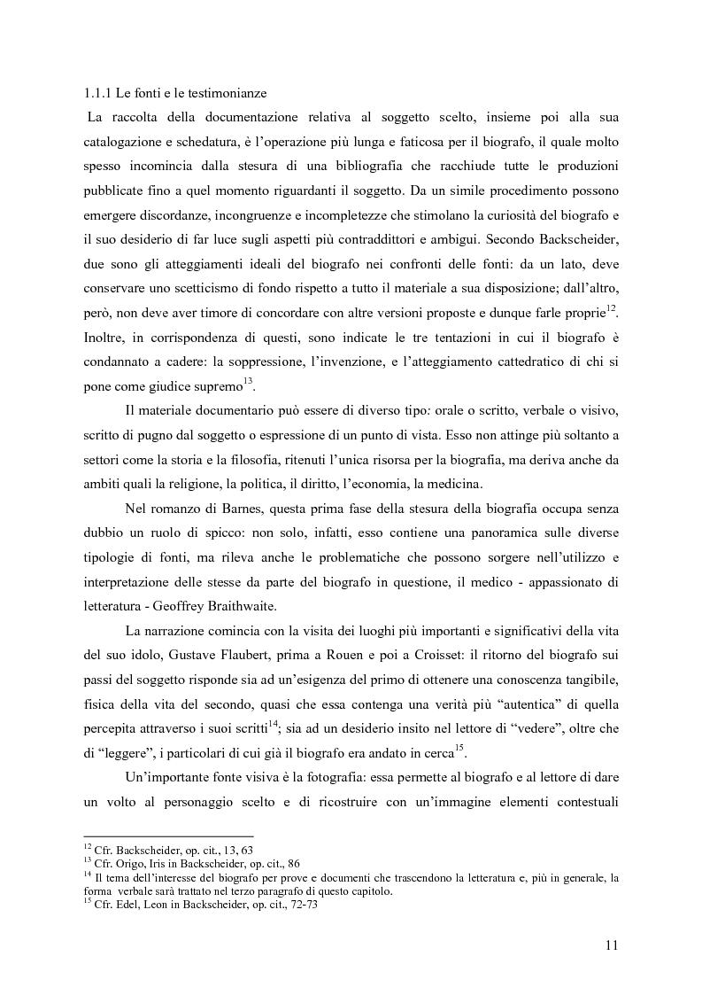 """Anteprima della tesi: """"History is merely another literary genre"""": Julian Barnes e l'""""invenzione"""" della storia, Pagina 9"""