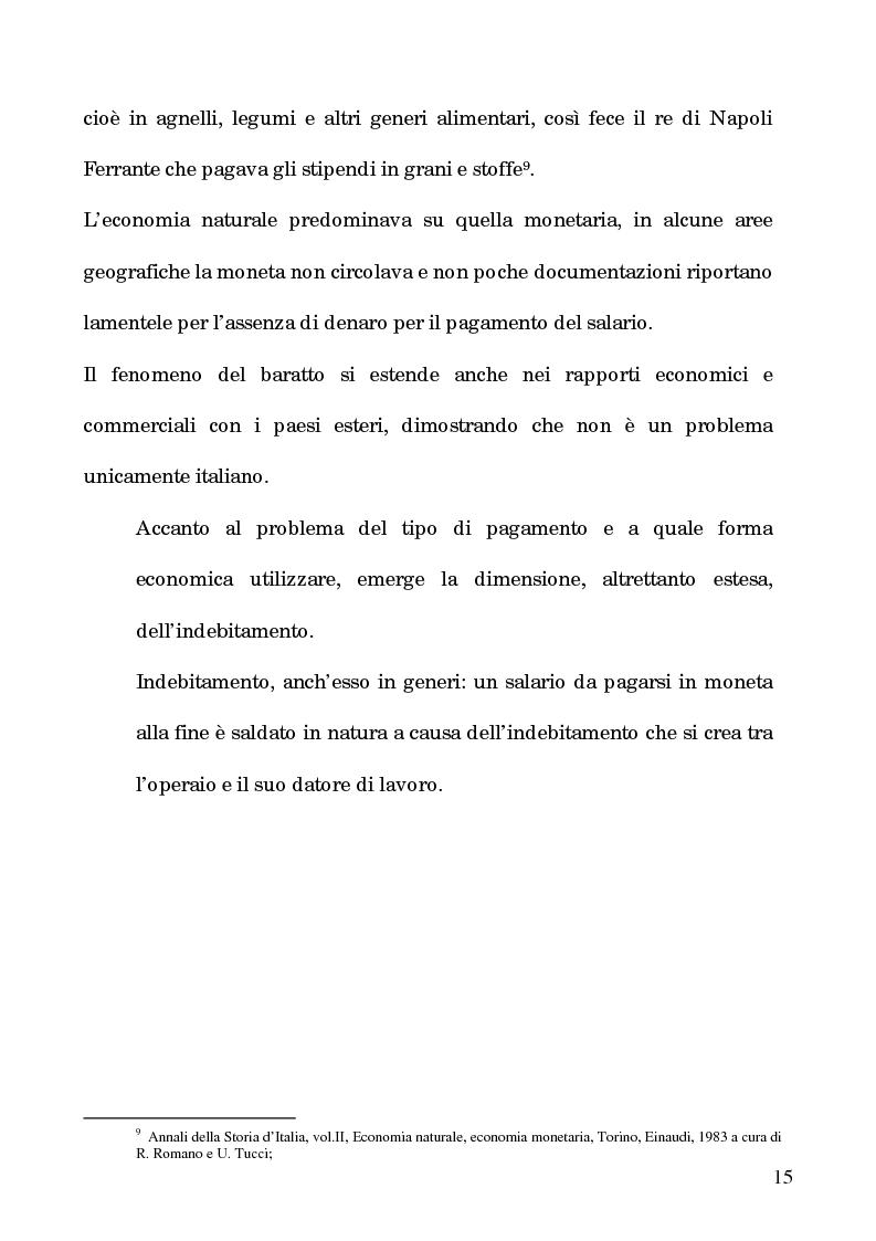 Anteprima della tesi: I processi per debito nella Roma del 1600, Pagina 10