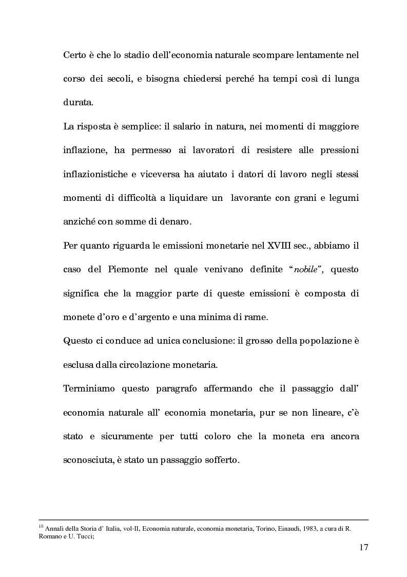 Anteprima della tesi: I processi per debito nella Roma del 1600, Pagina 12