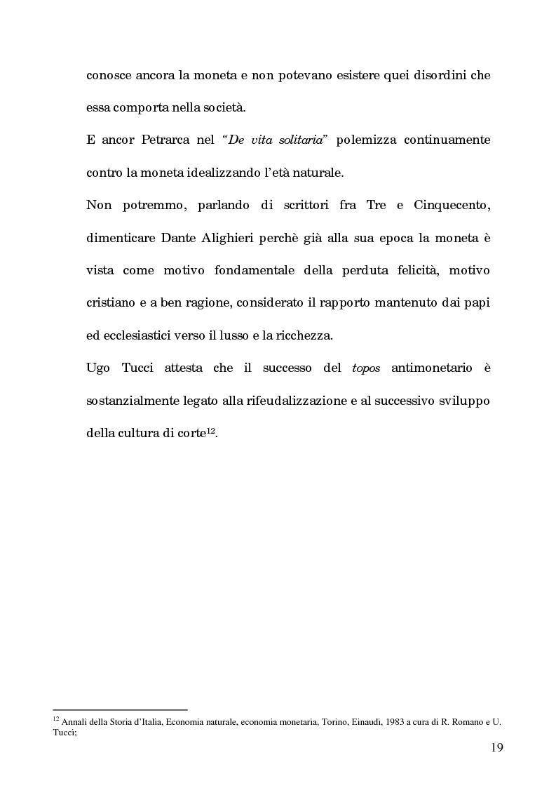 Anteprima della tesi: I processi per debito nella Roma del 1600, Pagina 14