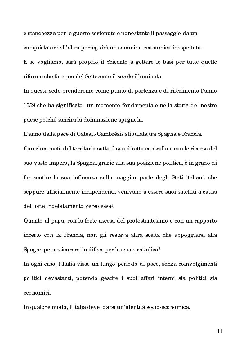 Anteprima della tesi: I processi per debito nella Roma del 1600, Pagina 6